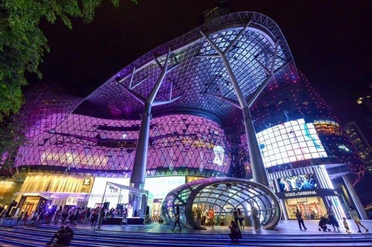 Top Sights Orchard Road Singapore