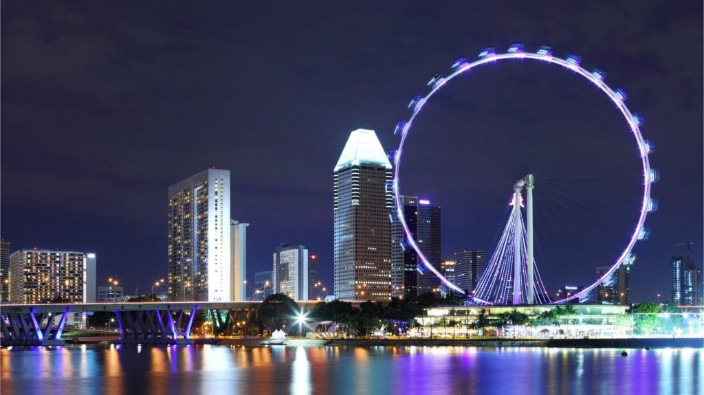 Top Sights Singapore flyer