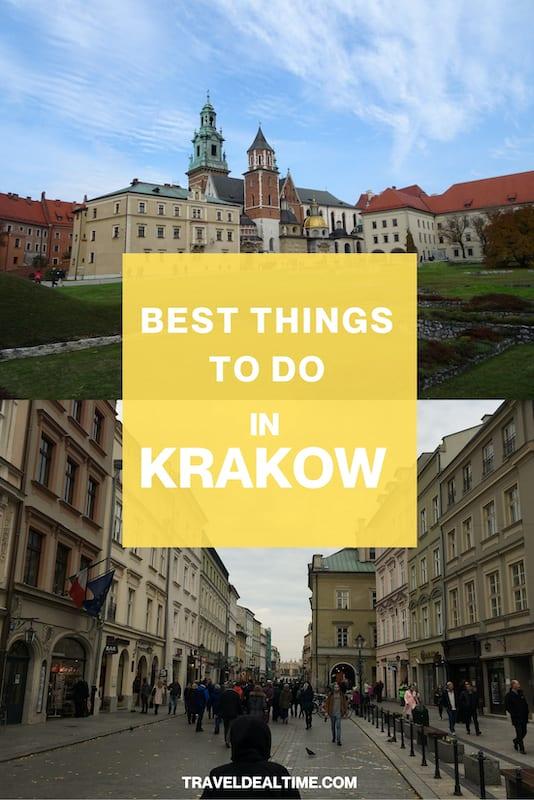 Best Things to do In Krakow