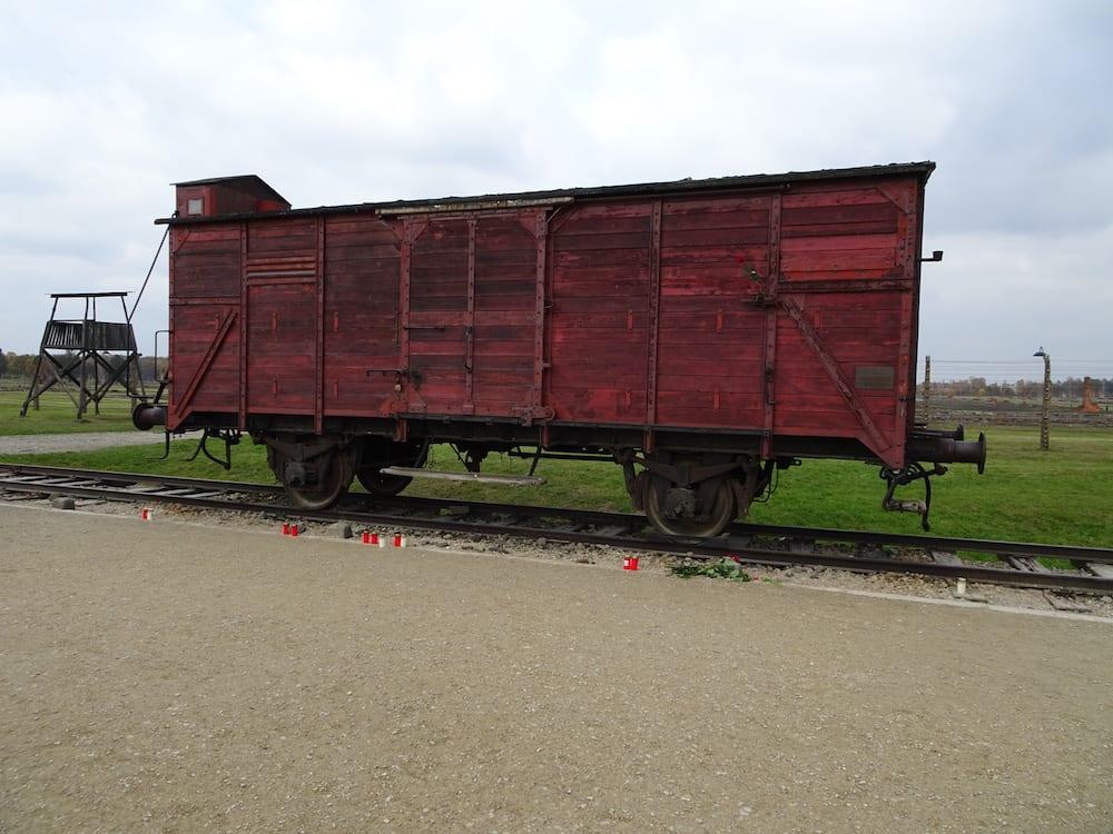 Train Car Auschwitz-Birkenau