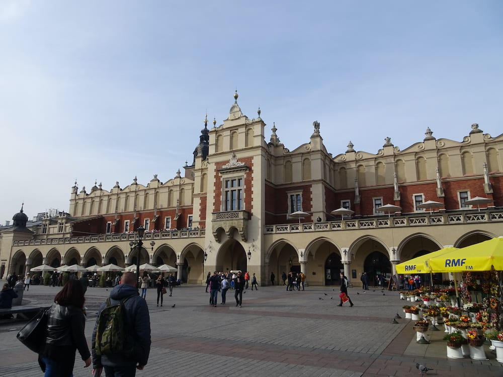 Cloth Hall Market Square Krakow Poland