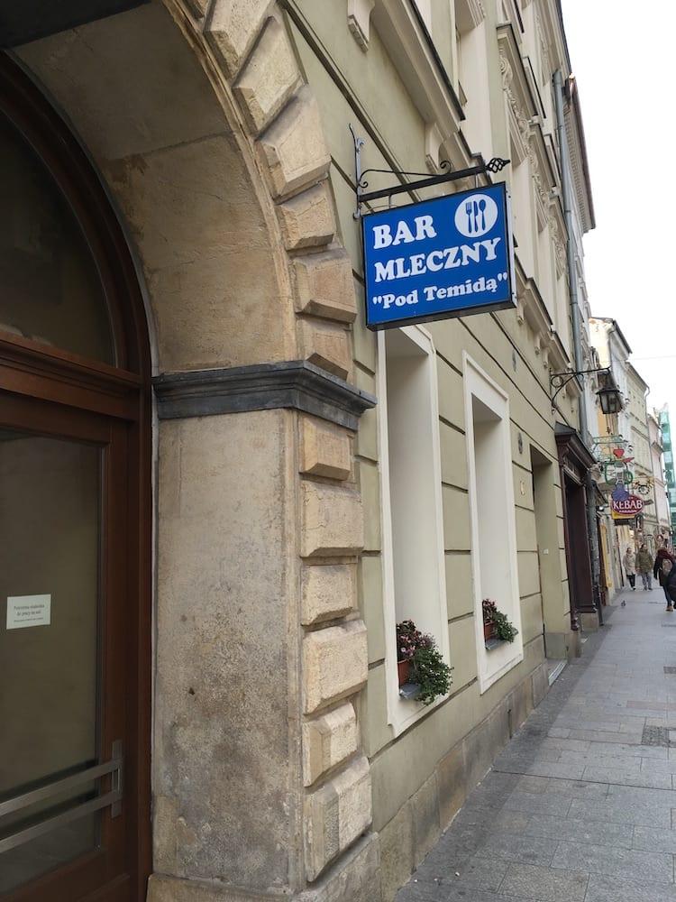 Milk Bar Krakow Poland