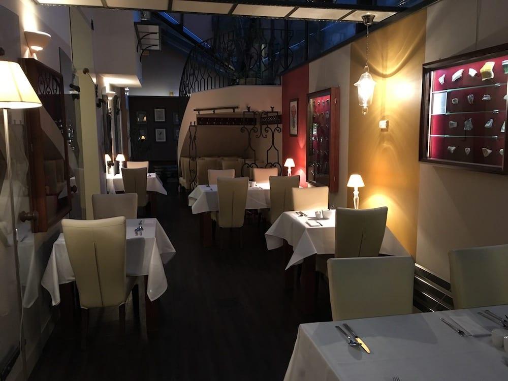 Dining room at Hotel Grodek Krakow
