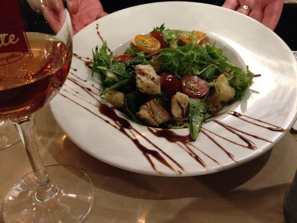 Lapin Saute salad