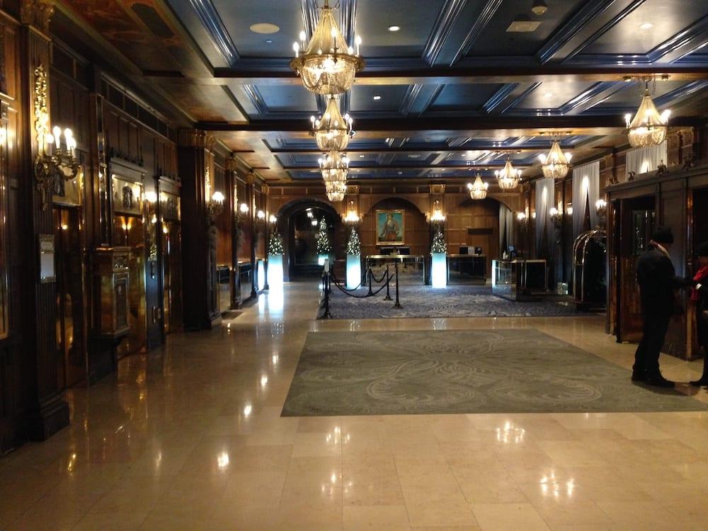 Chateau Frontenac Lobby