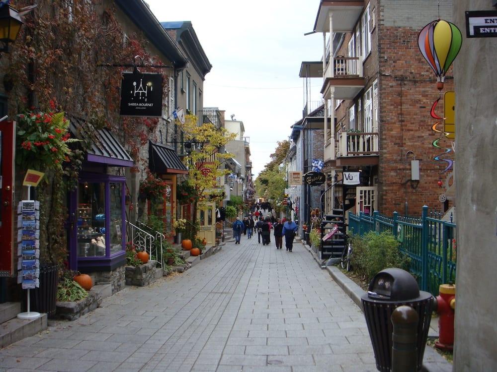 Rue Petit Champlain Quebec City