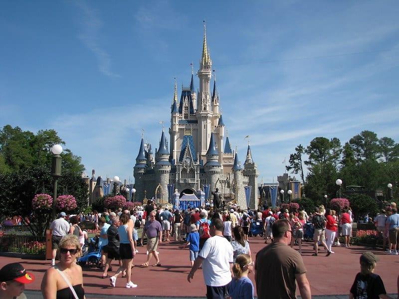 Disney Castle - Daytime